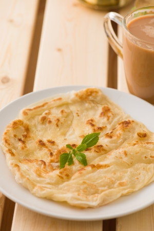 ramzan: chapati traditional indian food with traditional items on background