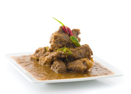 mutton rogan josh, mutton curry, indian cuisine   photo