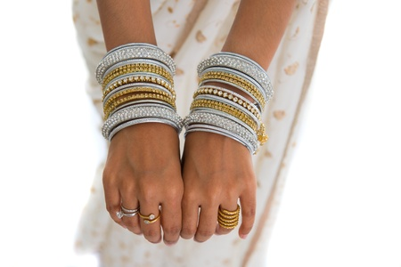 jeweled: Bangles in the air Beautiful Jeweled Indian Dancer