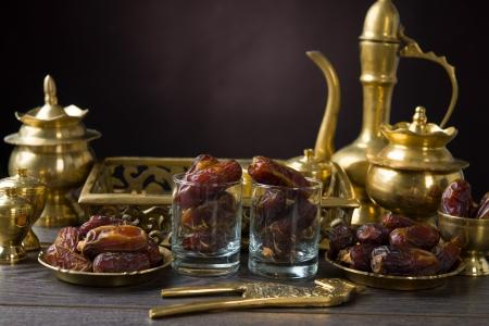 ramadan food also known as kurma , Palm dates Stock Photo - 20619980