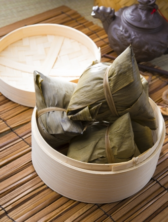 bazhang chinese dumplings, zongzi usually taken during duanwu festival occasion