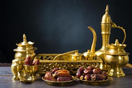 date palm: ramadan food also known as kurma , Palm dates