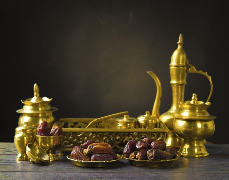 dates fruit: ramadan food also known as kurma , Palm dates
