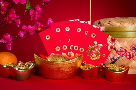 gong xi fa cai: chinese new year decorations,generic chinese character symbolizes gong xi fa cai without copyright infringement