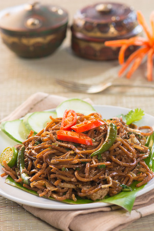 mee goreng mamak, popular cusine in malaysia photo
