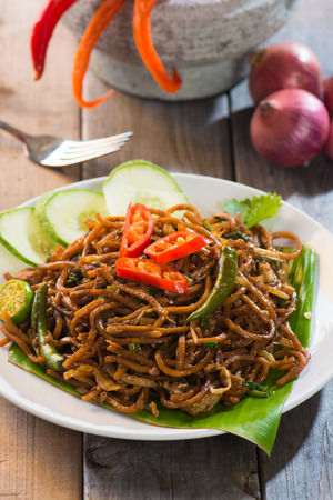 mie noodles: mee goreng mamak, popular cusine in malaysia