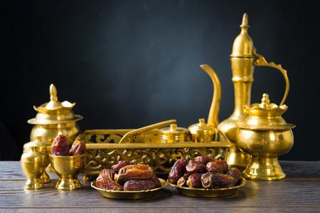 ramadan food also known as kurma , Palm dates Zdjęcie Seryjne