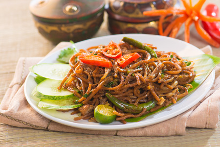 mee: mee goreng mamak, popular cusine in malaysia