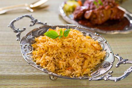 sella: Chicken Biryani rice