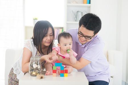 asian family money saving concept lifestyle photo photo