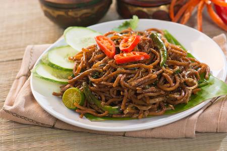 私ナシゴレン mamak、マレーシアで人気のある料理 写真素材