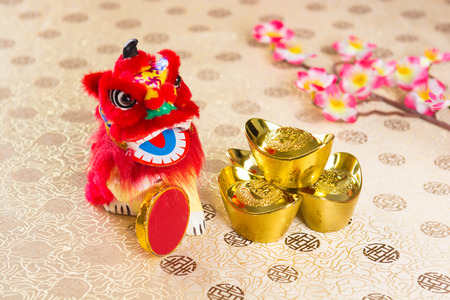 chinese new year decorations Stock Photo