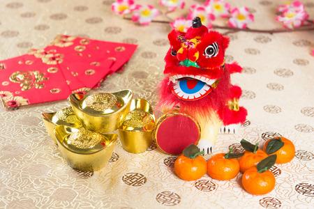chinese new year decorations photo