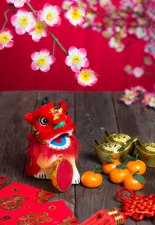 cai: chinese new year decorations ,chinese character symbolizes gong xi fa cai without copyright infringement