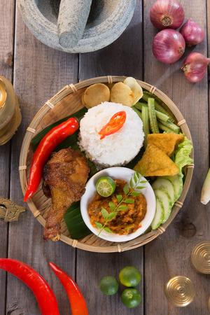 Balinese Nasi campur Zdjęcie Seryjne