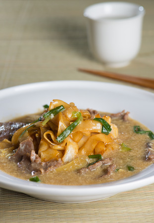 east asia: wat tan hor, popular cantonese fried noodle in south east asia