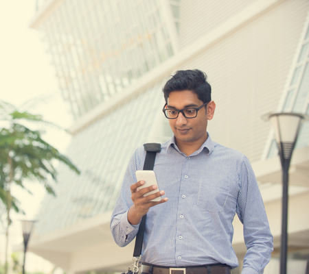 missed: indian male over on a phone conversation