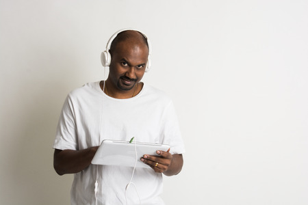 indian culture: casual african listening to music