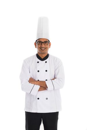 Malaysian indian male  chef