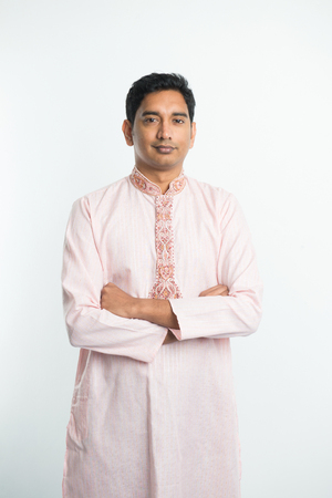 kameez: traditional indian male