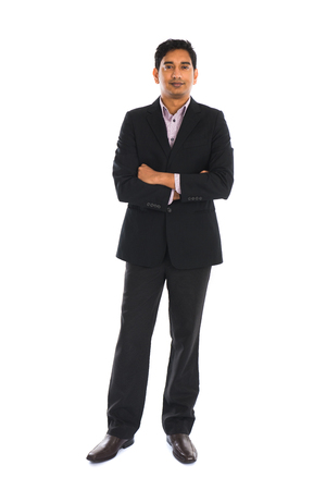indian professional: india male with coat