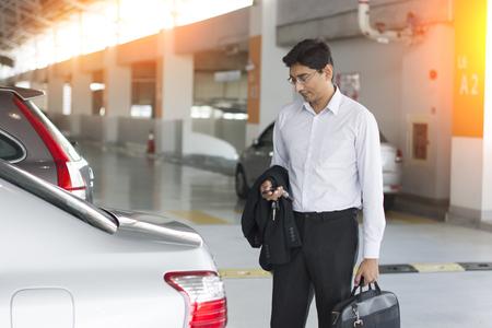 carpark: indian business in car park