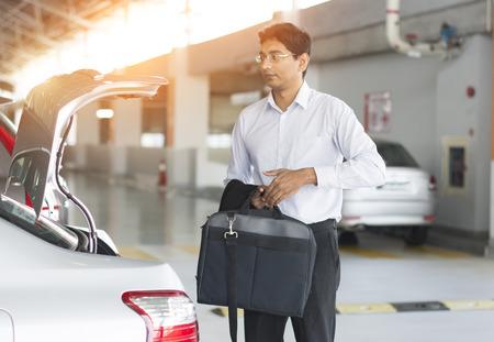 rental: indian business in car park