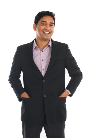 indian professional: indian business male in coat