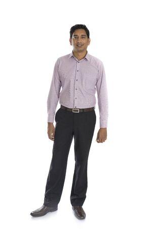 Hombre indio de negocios malasio
