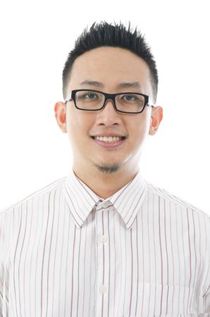 smartness: asian business male Stock Photo