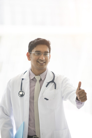 man doctor: indian male doctor outdoor
