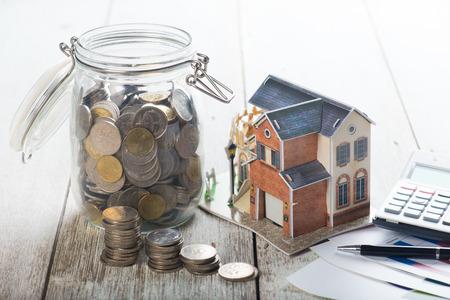 Home Concept pożyczki zdjęcia Zdjęcie Seryjne