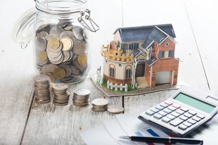 deposit: house loan concept photo