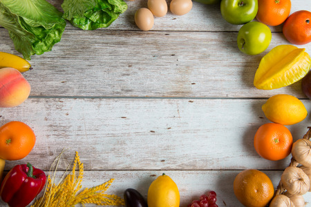 protien: healthy food background concept photo with copyspace
