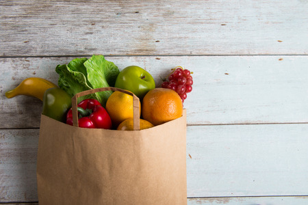 grocery shopping concept photo Archivio Fotografico