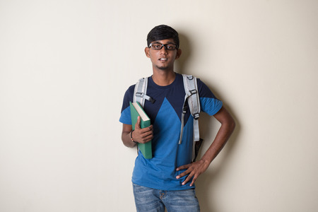 individual: teenage indian male college student