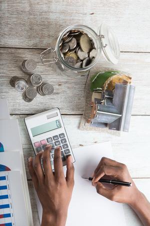 business finance: finance business calculation