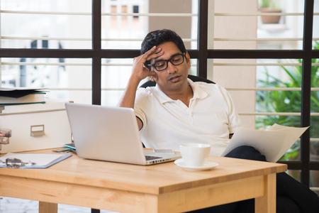 indian business male headache
