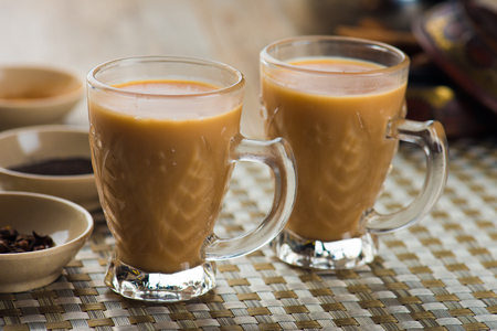 yemen arabic milk tea