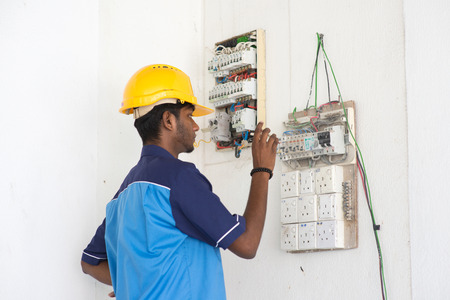 indian male electrician