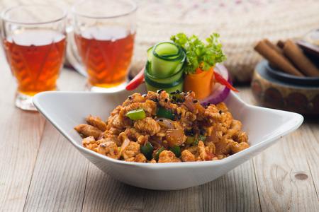 arabic food: mugagal chicken, arabic food