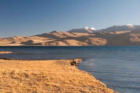 tsomoriri lake, ladakh in India