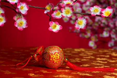 prosper: chinese new year ornaments Stock Photo