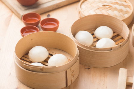 bao ,popular chinese dim sum food