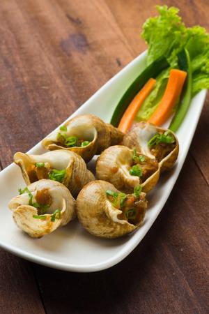 heap: delicious sea snails
