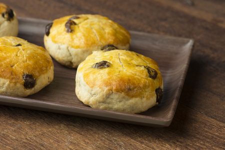 scones with backgrounds Stok Fotoğraf