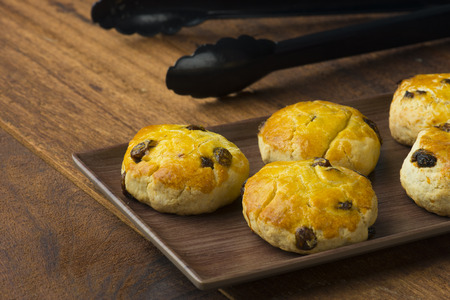 scones with backgrounds Banque d'images