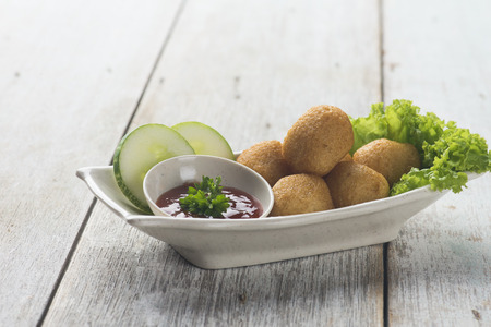 deep fried fish balls