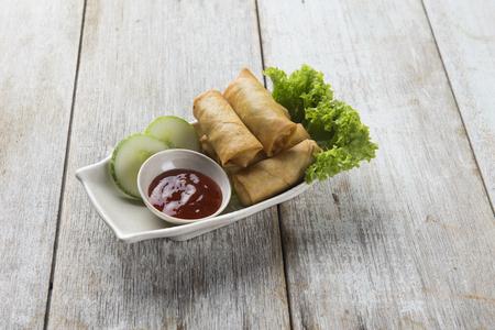 spring rolls, Lumpia asian foods