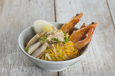 malaysia famous prawn noodle